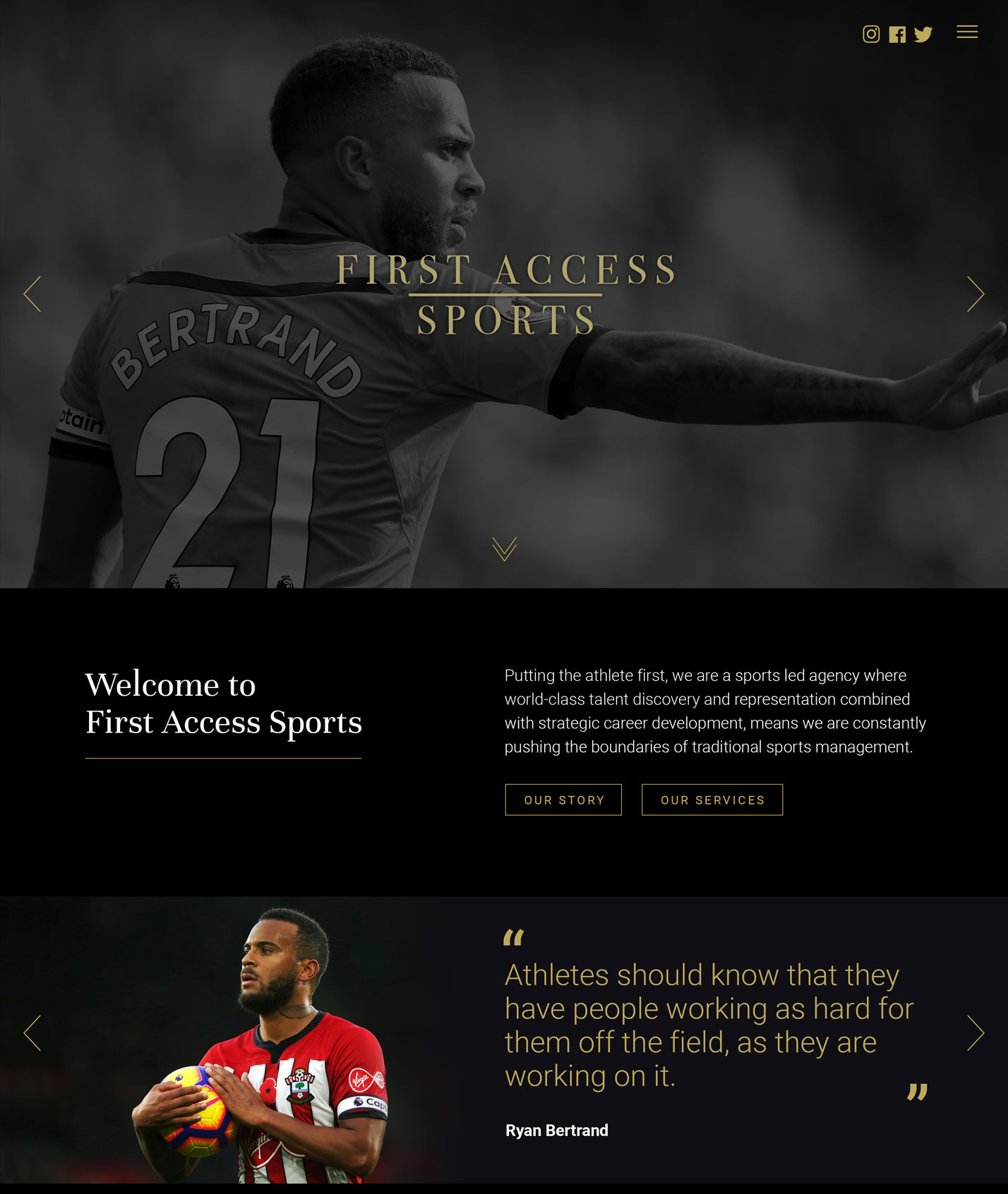 FAS - First Access Sports - work by Ever Increasing Circles